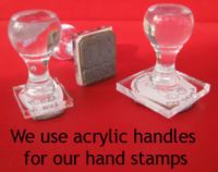 Teacher Hand stamps