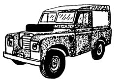 Land Rover - Car M3208