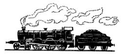 Steam train - Train M3210