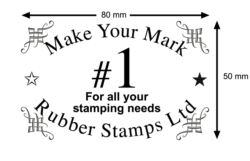 Address Stamp 80x50