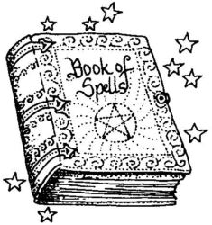 Book of Spells N4433