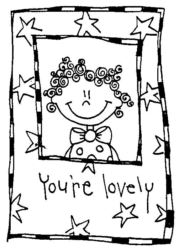 You Are Lovely Character Q4196