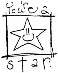 You Are A Star Smiley Star Q5149