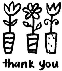 Thank You Flowers Q5165