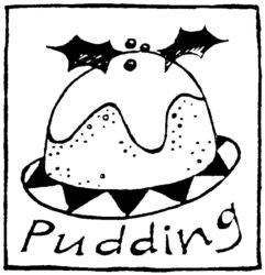 Christmas pudding R4853