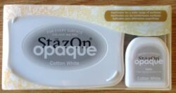 StazOn Opaque Cotton White SZ110
