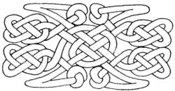 Celtic Pattern ZC1583