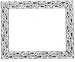 Large Celtic Border ZC1586
