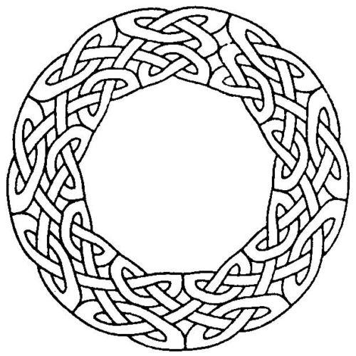 Celtic Knot Circle Border | www.imgkid.com - The Image Kid ...