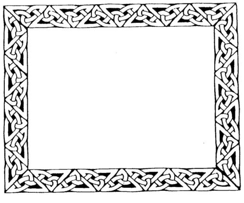 How To Draw Celtic Borders